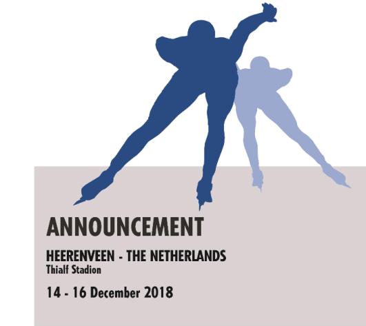 Announcement Heerenveen